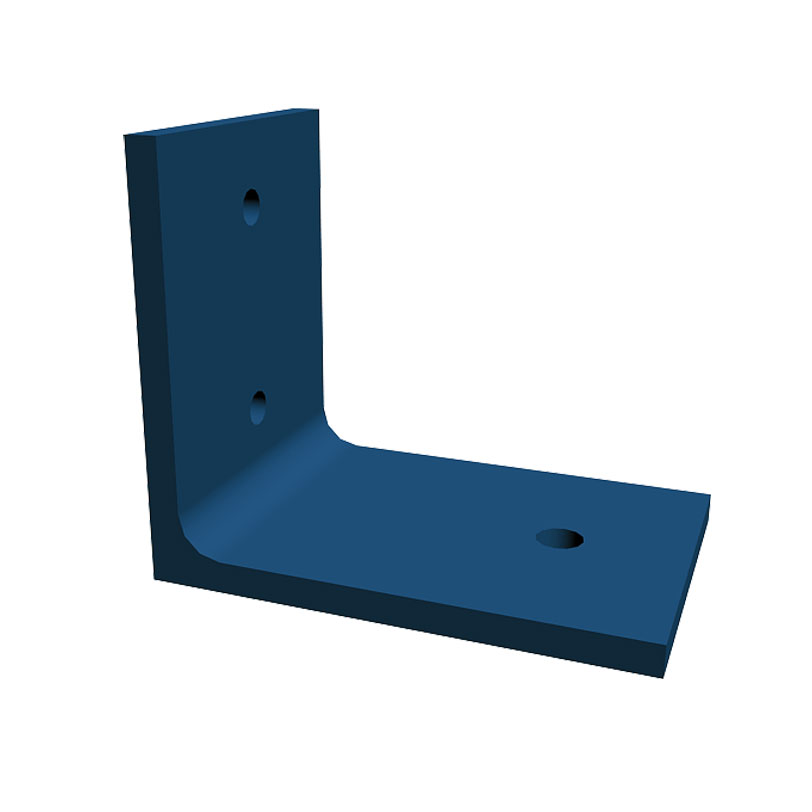 Bent Plate Angle Clips, Eberl Iron Works Metal Fabrication Services Division