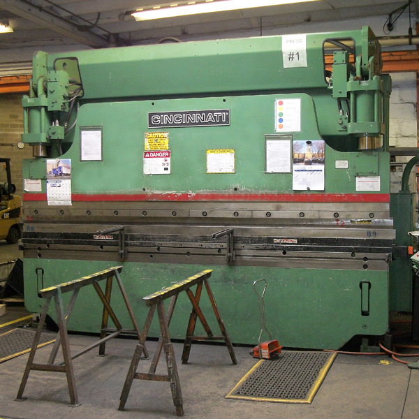 Press Brake Machine, Eberl Metal Fabrication Services Division