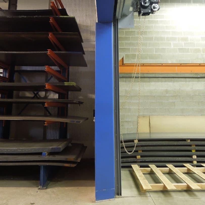 Door Jamb Door Header Framing, Eberl Iron Works Metal Fabrication Services Division
