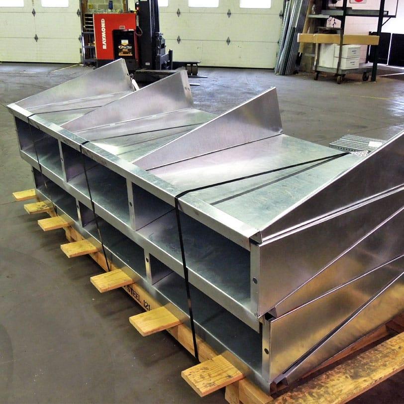 Metal Canopy for Loading Dock Door