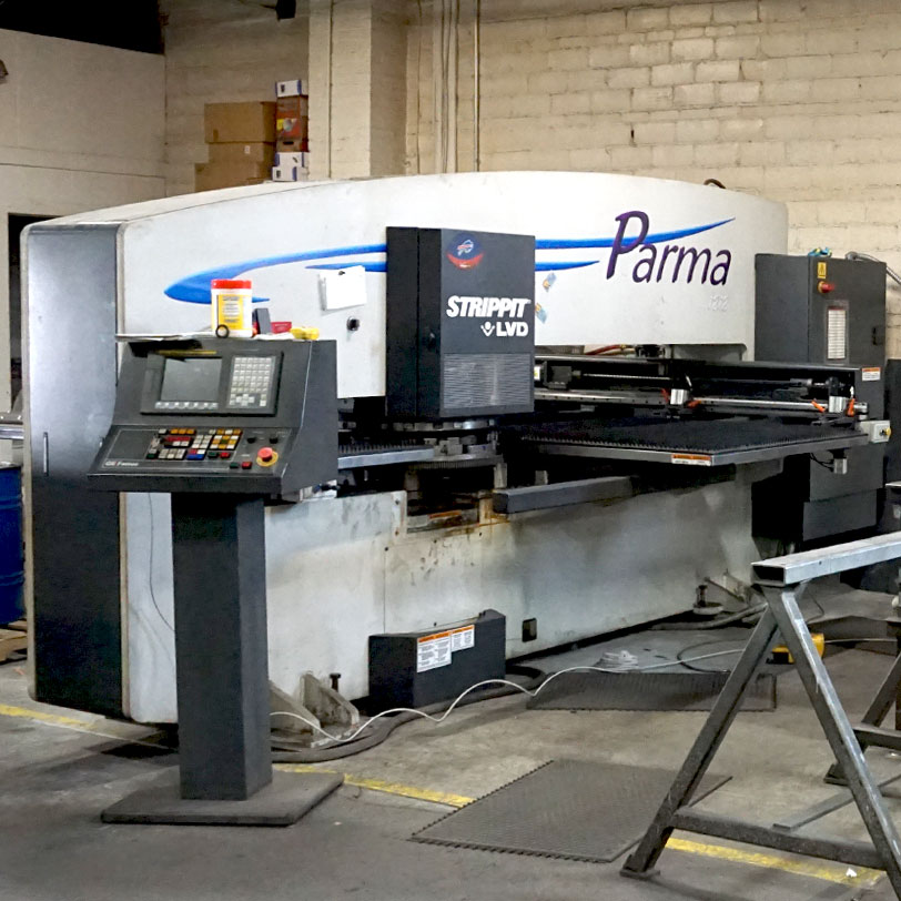 Turret Punch Press, Eberl Metal Fabrication Services Division